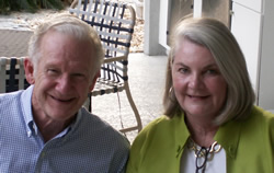 Photo:UF's First Neurosurgery Resident, Joseph C. Cauthen, MD with Mrs. Cauthen