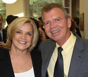Photo: Dr. Lucy Love and Dave Peace